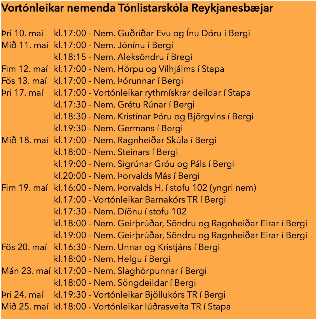 Vortónleikar5