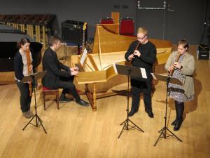 1.Sandra Óskarsdóttir, Guðlaugur Ari Grétarsson, Helga Aðalheiður Jónsdóttir og Kristján Karl Baragason